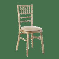 Chivari Gold Chairs - Chairman Hire
