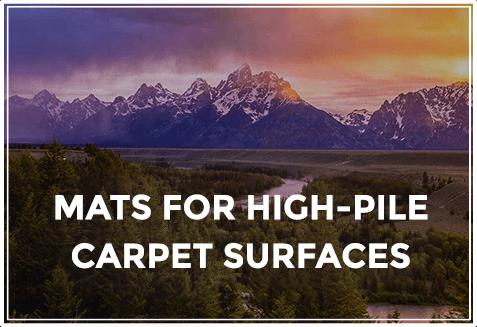 desk chair mat for high pile carpet colorado ski chairs bison co mats grand teton series company heavy duty