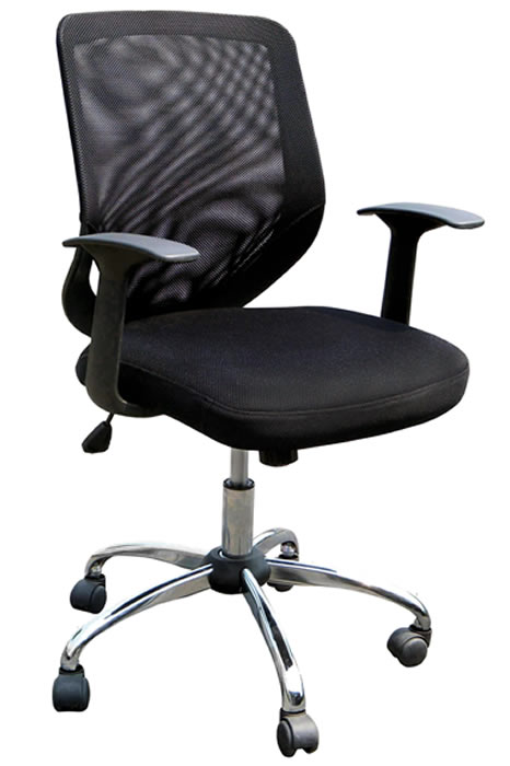 white mesh office chair uk 2 and table set endo small black breathable back