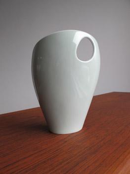 Palette Vase by Beate Kuhn for Rosenthal Germany