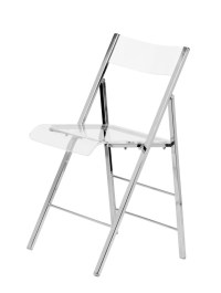 Lucite Folding Chair, Folding Chairs : Chairs Direct Seating