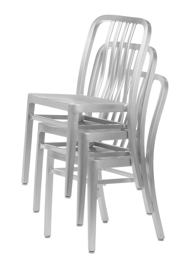 Aluminum Sandra Navy Style Chair Sandra Collection  Chairs Direct Seating