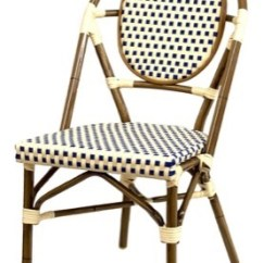 Paris Bistro Chairs Outdoor Oversized Chair And Ottoman Sets Parisian Weave Direct Seating