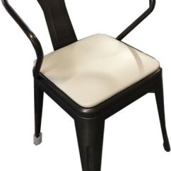Steel Vinyl Chair Zero Gravity Spa Pedicure Galvanized Arm With Seat Hudson Collection