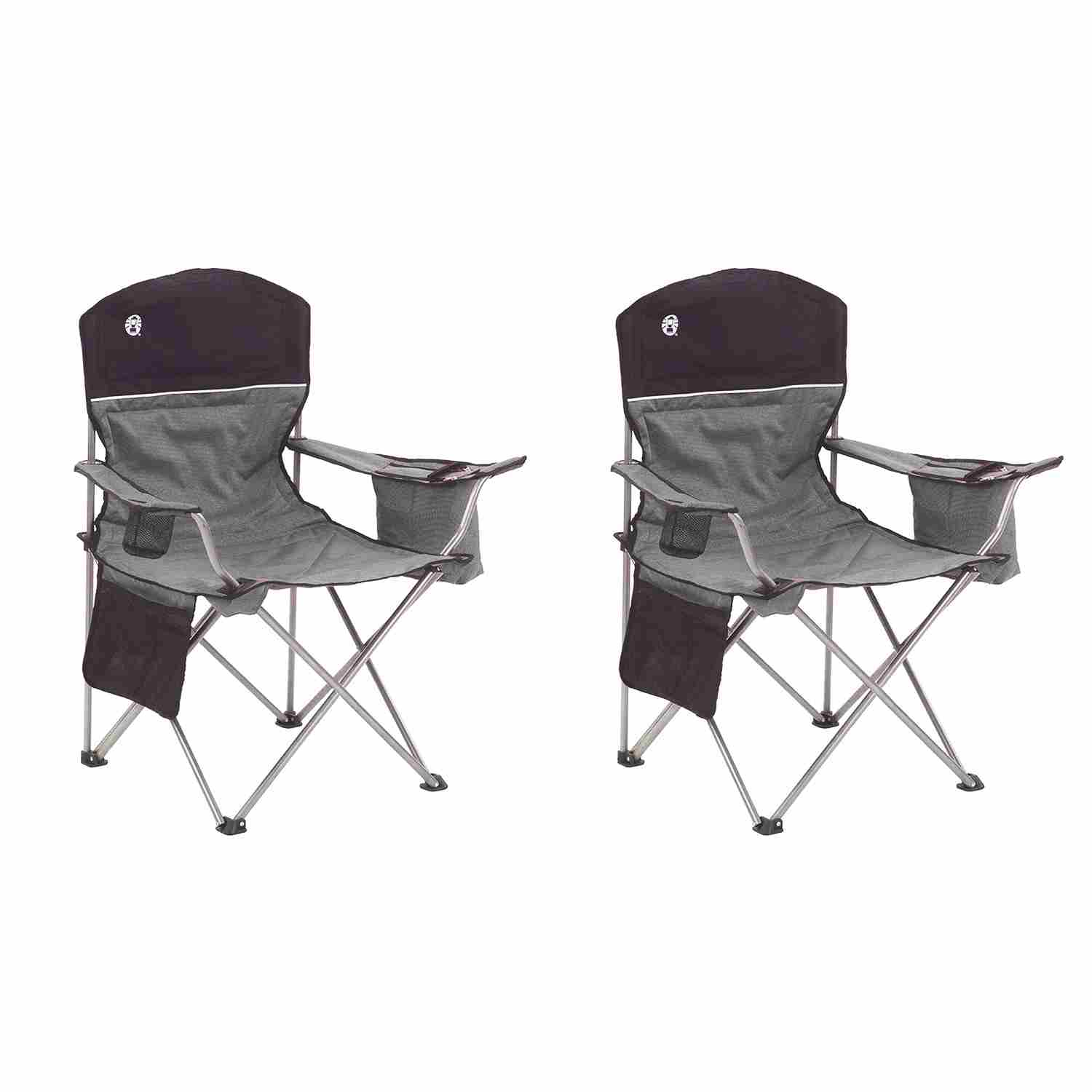 coleman portable deck chair caning seat weaving supplies maccabee camping chairs
