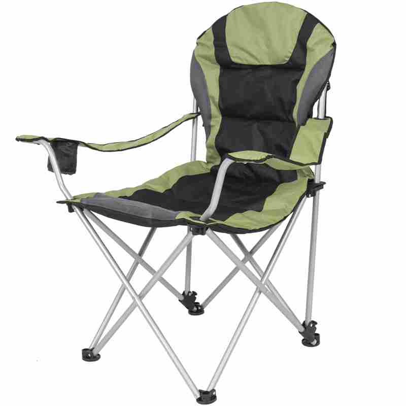 giant folding chair air mattress bed camping deluxe