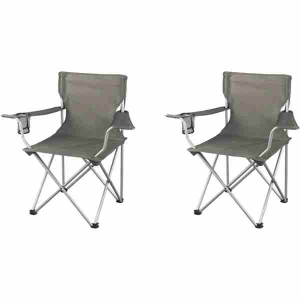 two seater folding lawn chair swivel post bushing northwest territory camping chairs