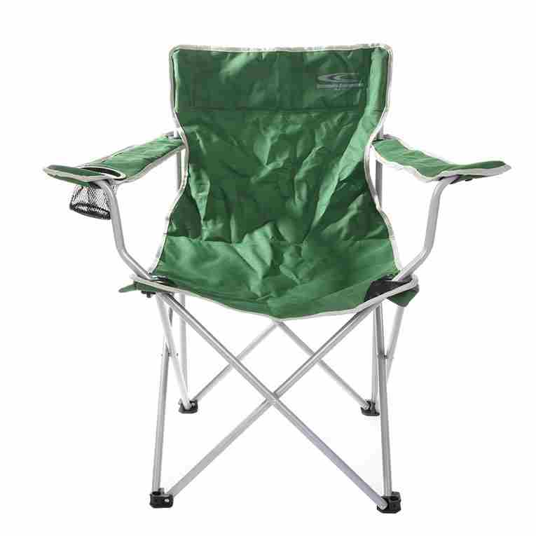 fishing chair no arms dining back covers christmas camping portable