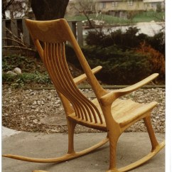 Handmade Rocking Chairs Fisher Price Swing Chair Rick Brewer Custom Cabinets And