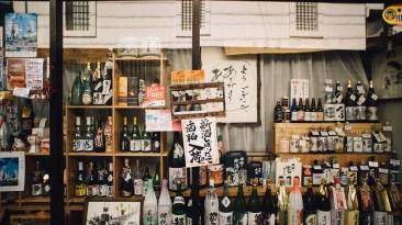 Etagères Saké Japon