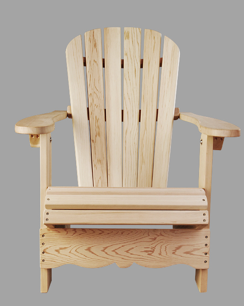 chaises adirondack fabrique en cedre rouge