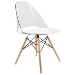 chaise design transparente ice dsw