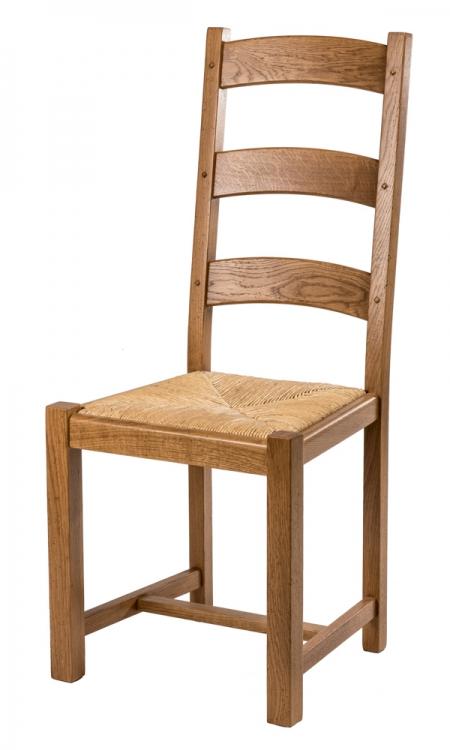 chaise campagnarde en chene massif