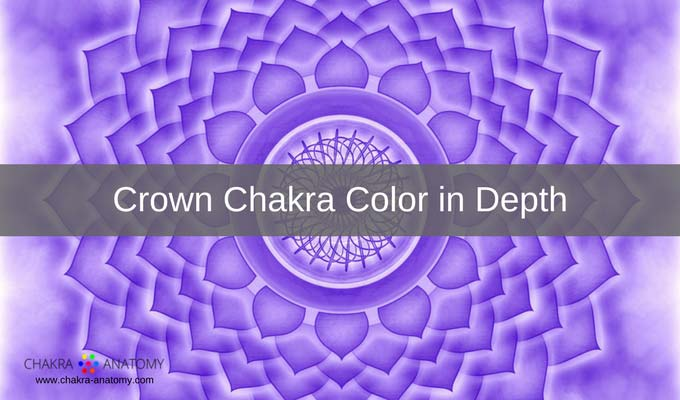 crown chakra colors