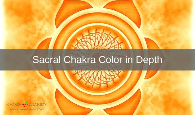 sacral chakra colors