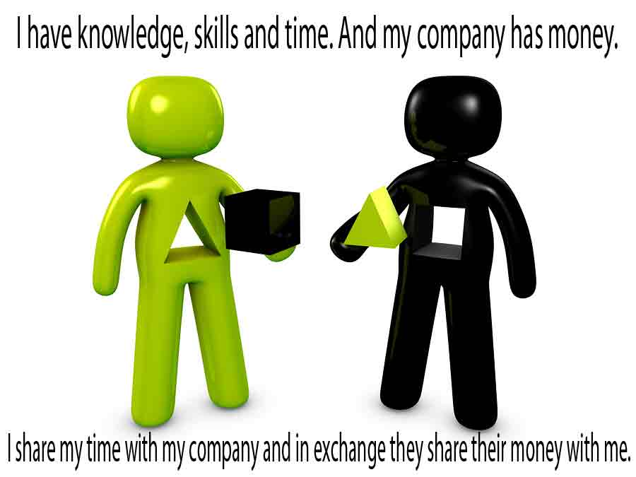Work as a Sharing Exercise