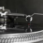 Dj  Stylus On Vinyl Record