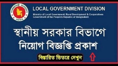 Job in Department of Local Government Division