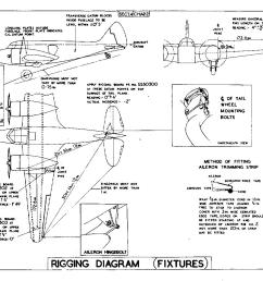 the airspeed consul aircraft airplane engine diagram rigging diagram of aircraft [ 1312 x 1040 Pixel ]