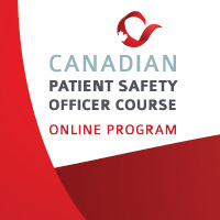 Canadian Patient Safety Officer Online Program