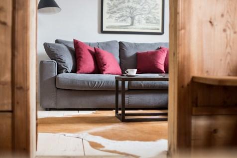Wohnzimmer Chalet Hafling Leckplått