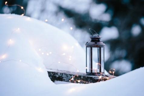 Schnee Licht
