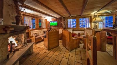 Bar de l'hotel Chalet Philibert Morzine