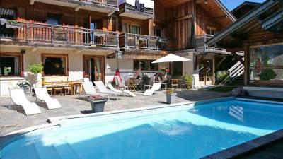 Piscine Hotel Chalet Philibert