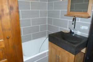 Salles de bain et d'eau multiples au chalet areches