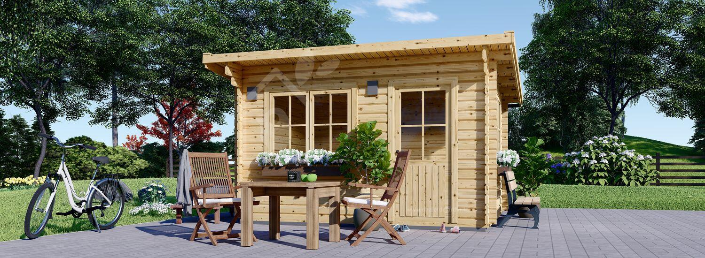 abri de jardin a toit plat dreux 44 mm 5x4 m 19 9 m
