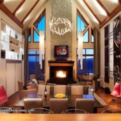 Rental Sofa American Manufacturers Altitude Condo (172-10) 3brs Hot - Mont-tremblant Cottage ...