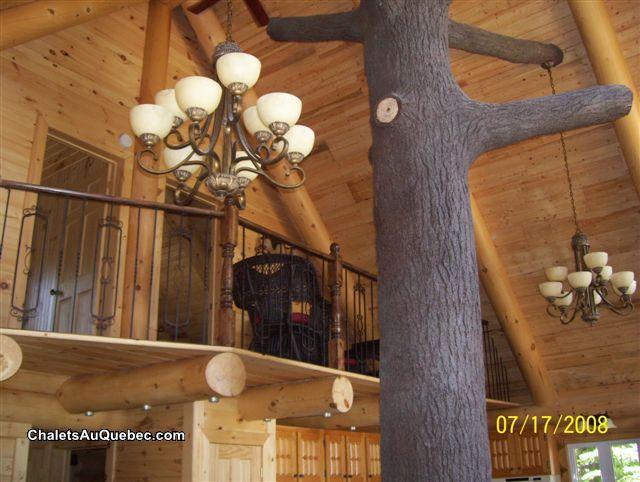 Le bois rond relax  Chalet  louer StTitedesCaps  DI4962  ChaletsAuQuebec