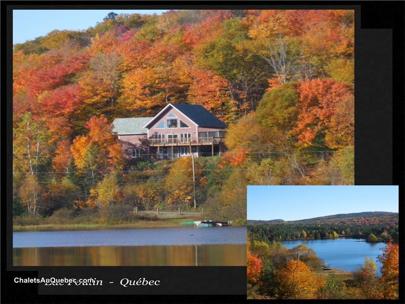 Chalet avec vue superbe et  Chalet  louer LacBeauport  OR5424  ChaletsAuQuebec