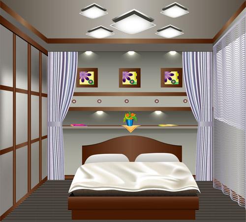 Viste las ventanas de tu hogar con cortinas modernas - Cortinas modernas para recamara ...