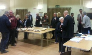 Parish Assembly meeting at Chalgrave Memorial Hall (2014)