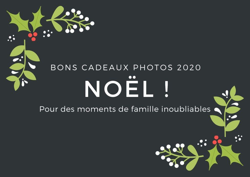 Bons cadeaux photos 2020