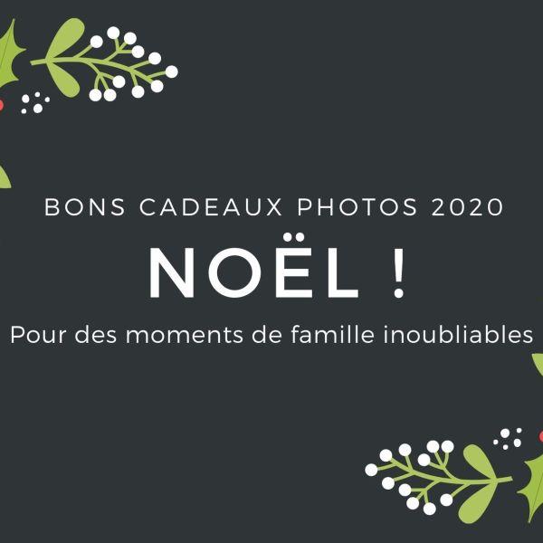 Bon cadeaux photos 2020