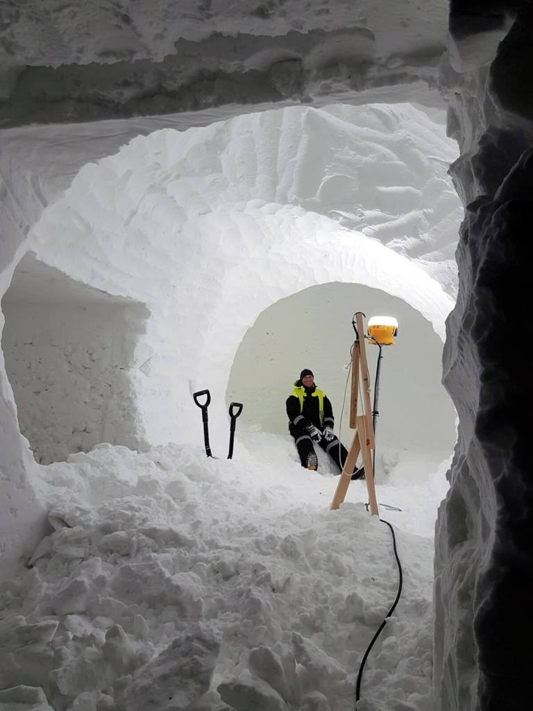 ICEHOTEL Sweden 2018 by Hugh Miller and Howard Miller. Exclusive access by Chalk & Moss.