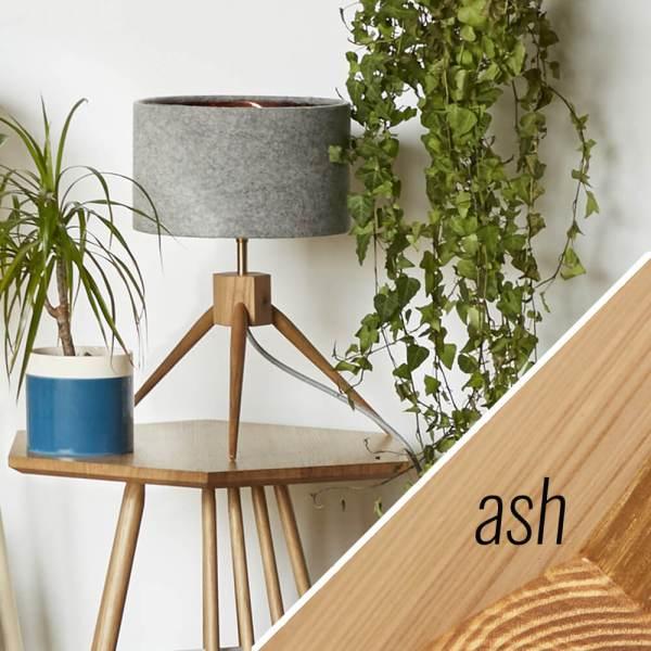 MIMA table lamp - ash - by John Eadon on chalkandmoss.com