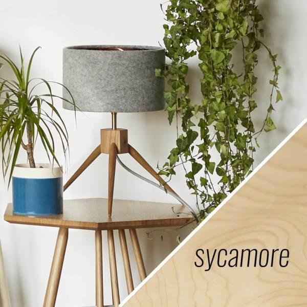 MIMA table lamp - sycamore - by John Eadon on chalkandmoss.com