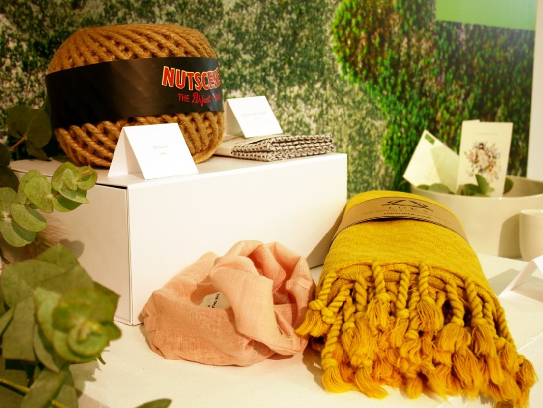 Nutscene has a fabulous collection of twine, macrame wool and more in earthy, warm or bright colours.