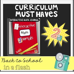 Back to School in a Flash: Math Interactive Journal