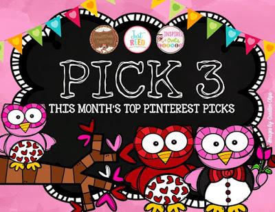 February Pick 3 Pinterest
