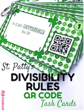 QR Code Divisibility St. Patrick's Day
