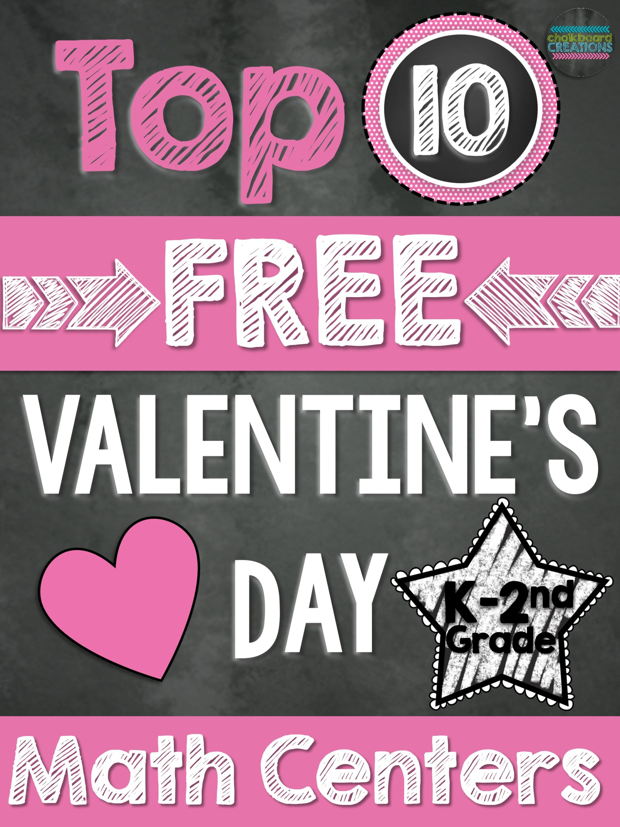 hight resolution of Top 10 FREE Math Centers for Valentine's Day (K-2nd Grade)