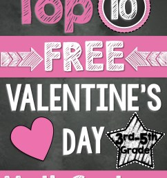 Top 10 FREE Math Centers for Valentine's Day (3rd-5th Grade) [ 3000 x 2250 Pixel ]