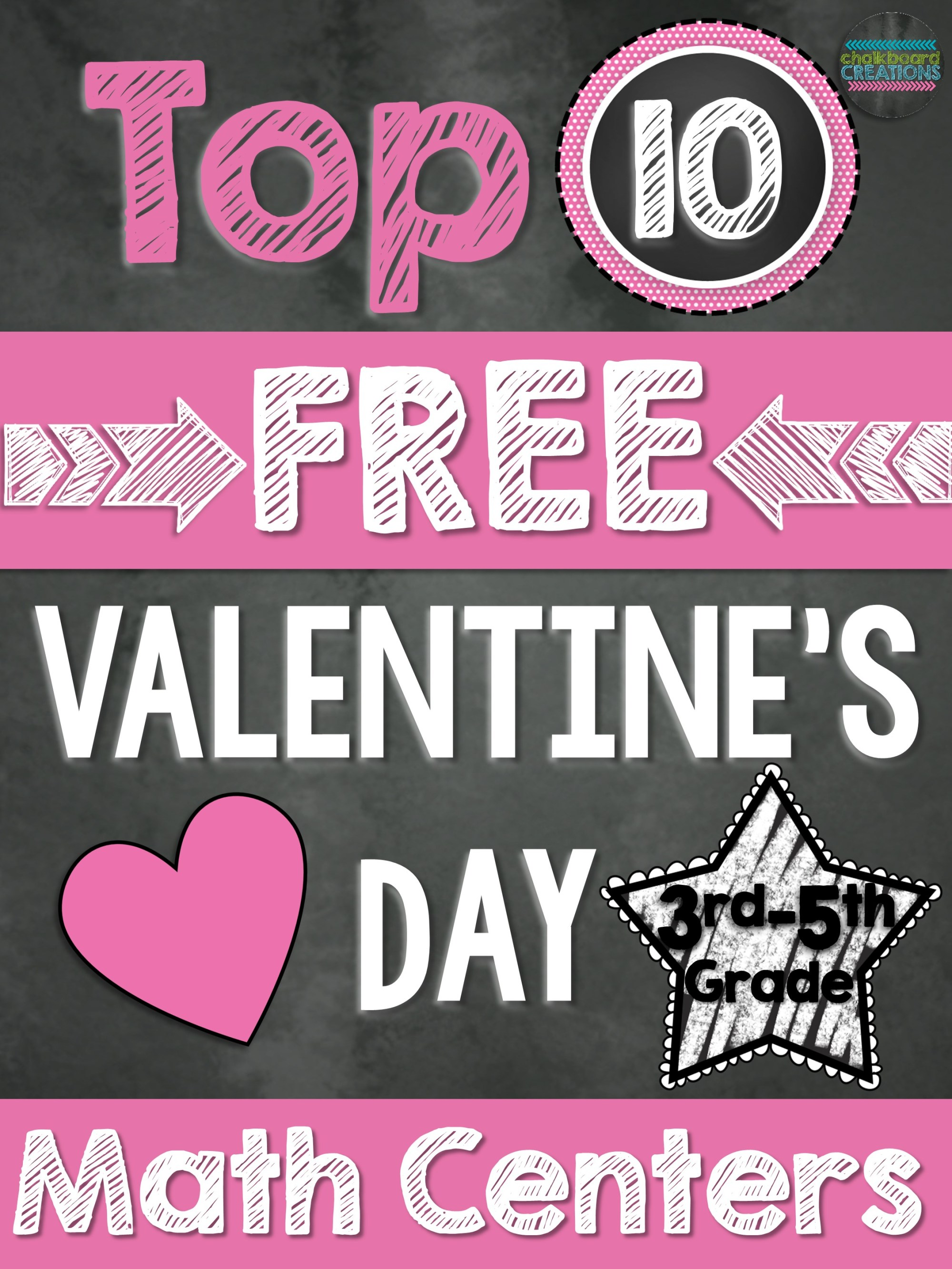 hight resolution of Top 10 FREE Math Centers for Valentine's Day (3rd-5th Grade)