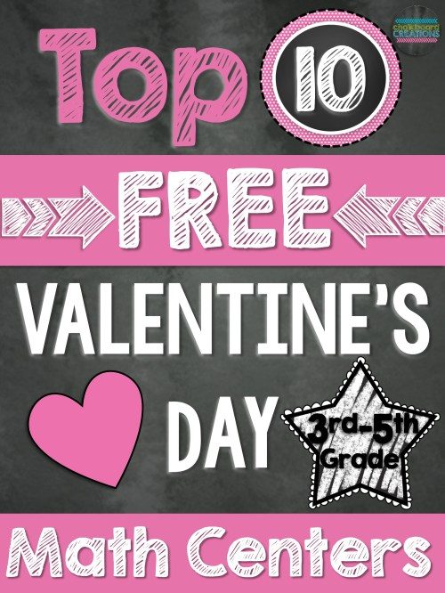 small resolution of Top 10 FREE Math Centers for Valentine's Day (3rd-5th Grade)