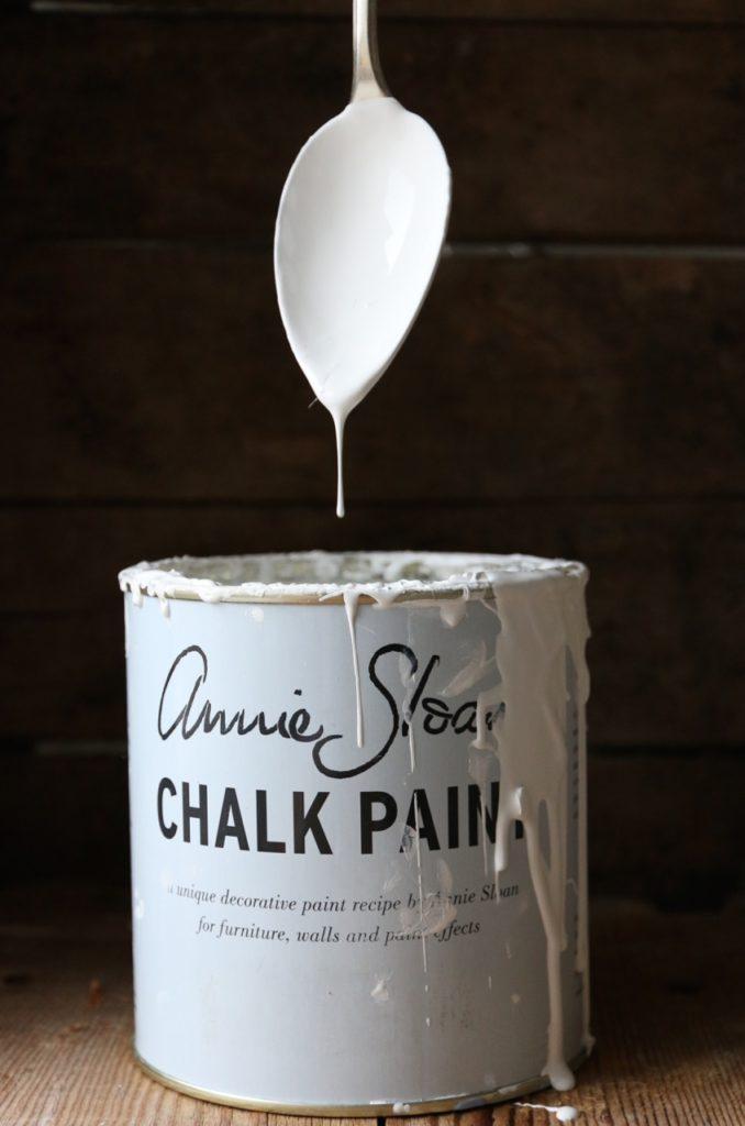 Tecniche Chalk Paint Annie Sloan  All White Italia