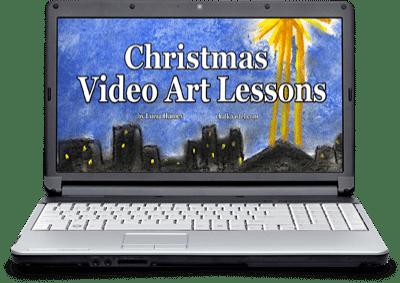 Christmas Video Art Lessons
